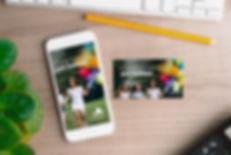 Celular, Cartão, Logotipo