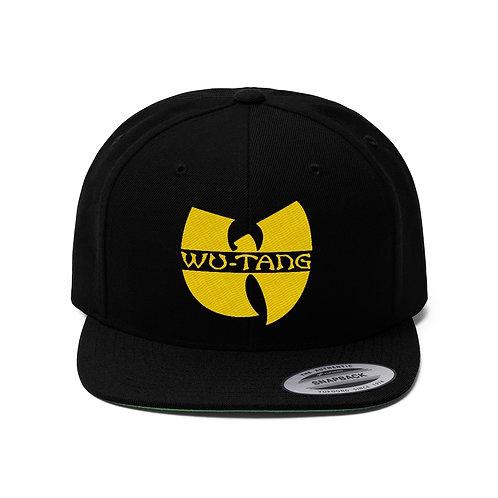 Unisex Flat Bill Hat