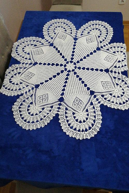 Vintage Lace Tablecloth 110cm x 110cm