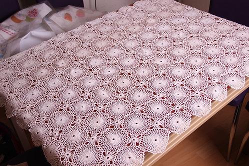 Retro Lace Tablecloth