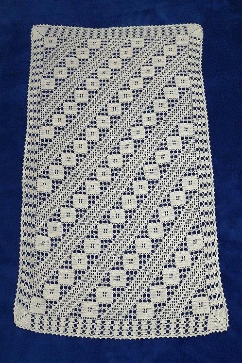 Vintage Lace Tablecloth 80cm x 45cm