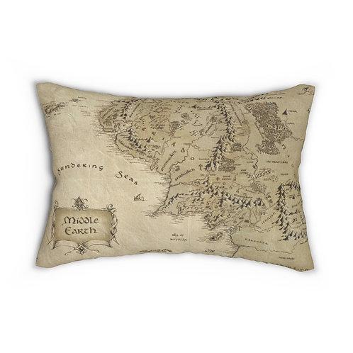Spun Polyester Lumbar Pillow