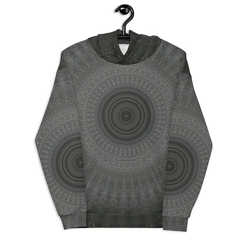 """Unisex Hoodie """"Abstract Gray"""""""