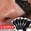 Thumbnail: 100pcs Nose Blackhead Remover Mask