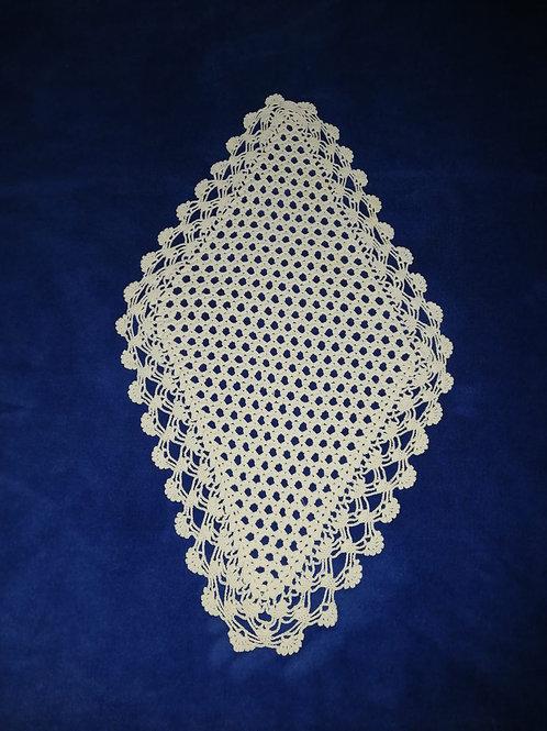 Vintage Lace Tablecloth 50cm x 30cm