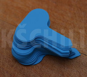 Blue garden labels 10pcs