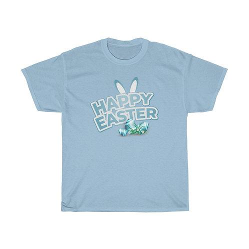 """Unisex Heavy Cotton Tee """"Happy Easter"""""""