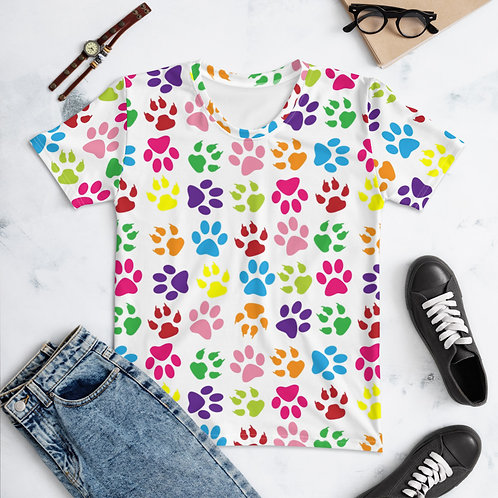 Women's T-Shirt Paws