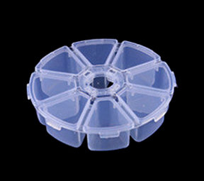 Plastic seed box