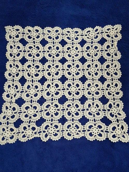 Vintage Lace Tablecloth 30cm x 30cm