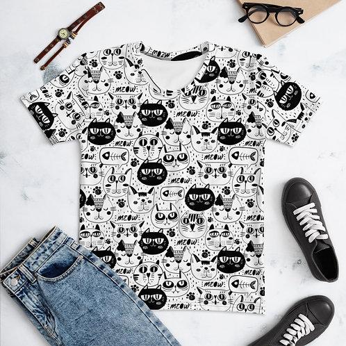 Women's T-Shirt Cat