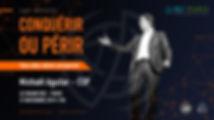 """Conférence """"Conquérir ou périr """" de Michaël Aguilar le 21 novembre 2019 à 19H00 au Grand Rex"""