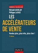 Livre Les Accélérateurs de Vente de Michaël Aguilar édité chez Dunod