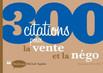 Livre 300 citations pour la vente et la négo - Michaël Aguilar - Dunod