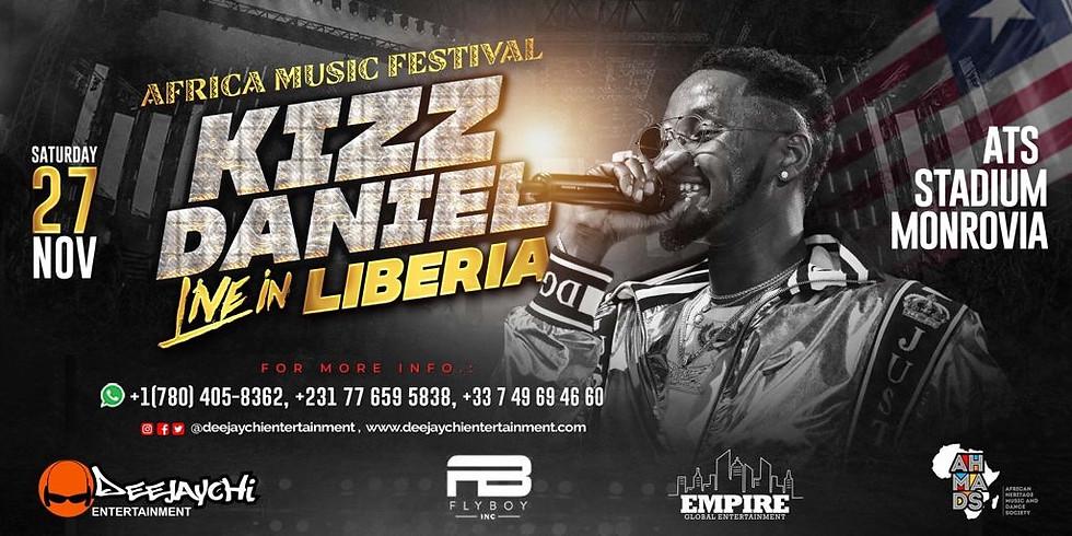 Kizz Daniel Live in Liberia