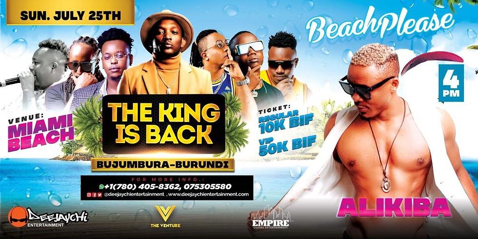 Alikiba Live in Burundi (The King Is Back)
