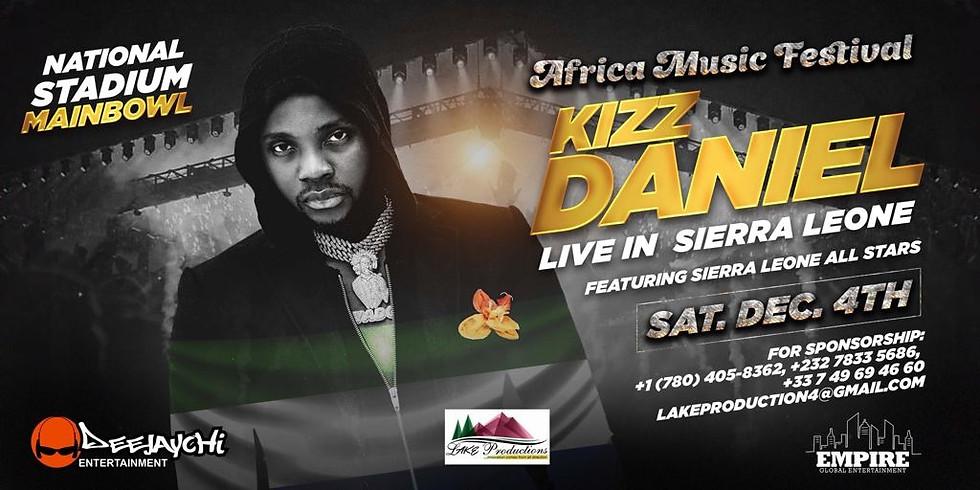 Kizz Daniel Live in Sierra Leone