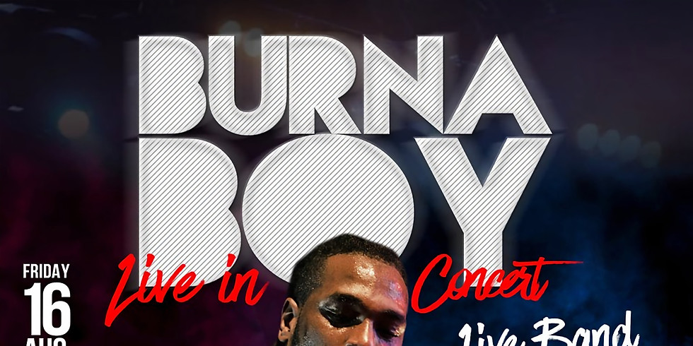 Burna Boy Live In Concert