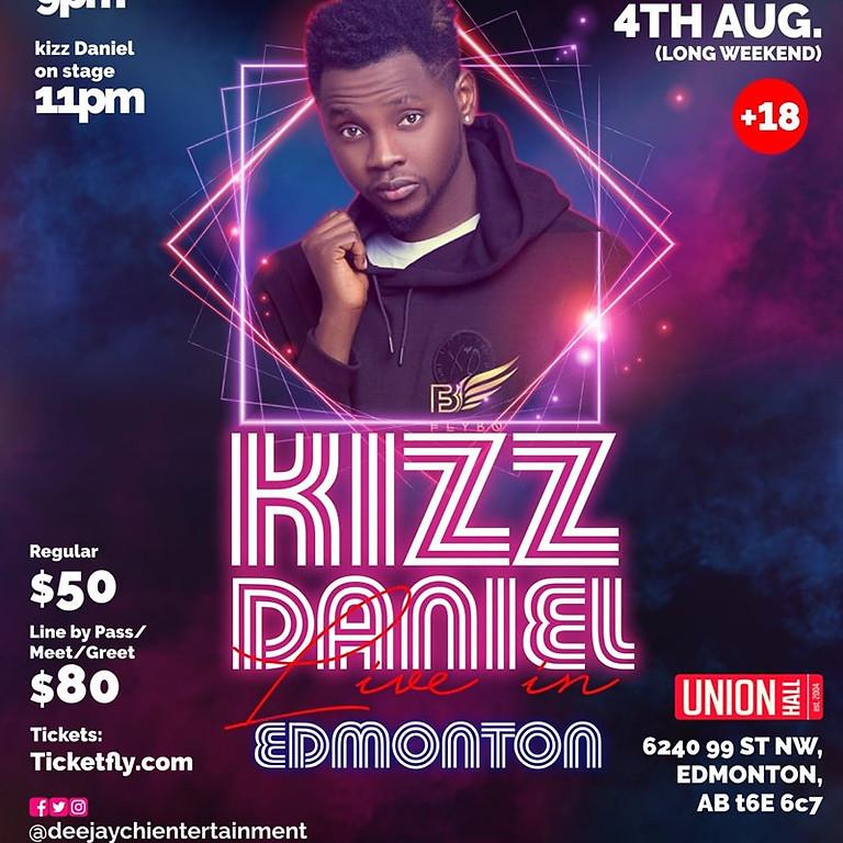 Kizz Daniel Live in Concert