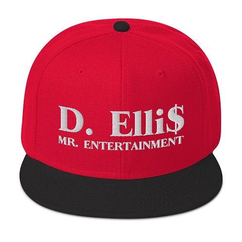 D. ELLI$ Snapback Hat