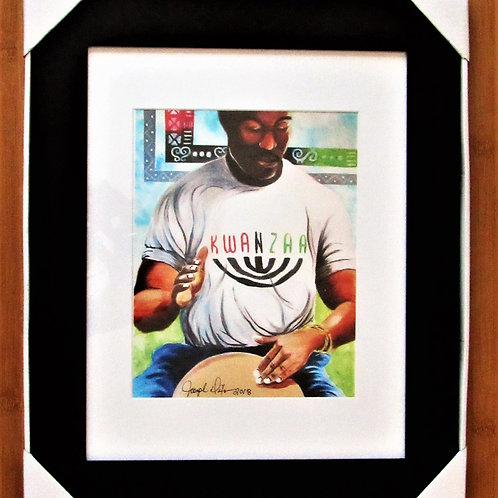 Kwanzaa Framed Print 11x14
