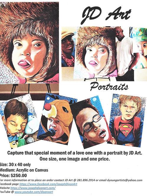 JD Art Portraits