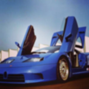 Another incredible story in 90s: Bugatti