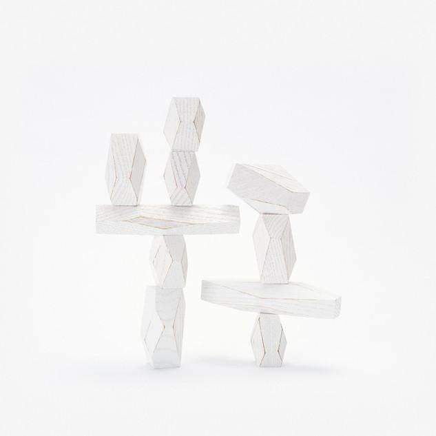 balancing blocks - blanc