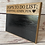 Thumbnail: Personalised Oak Blackboard Sign