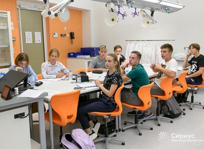 Школьники Республики Башкортостан прошли обучение в Образовательном Центре «Сириус» по химии