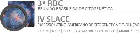 3ª - Reunião Brasileira de Citogenética IV - Simpósio Latino-Americano de Citogenética e Evolução