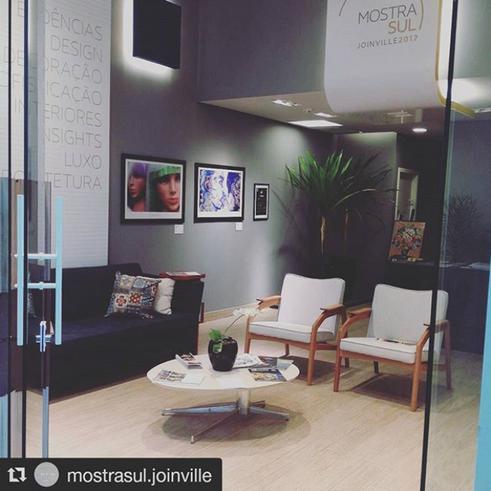 Loja no Shopping Garten Joinville para a Mostra Sul Joinville 2017