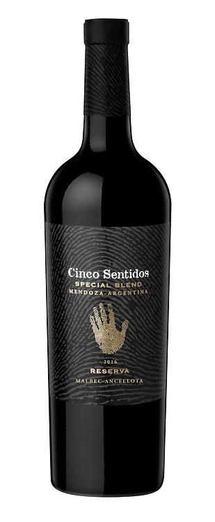 Cinco Sentidos Reserva Special Blend II 2016