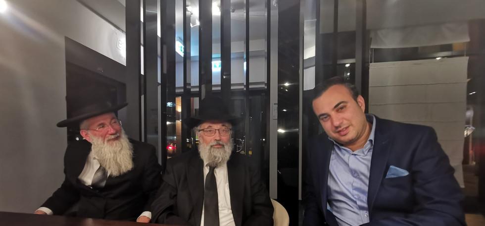 משה מרצ'לו עם רבני גרמניה החשובים