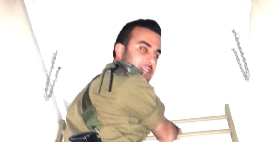 משה מרצ'לו במהלך שירותו הצבאי