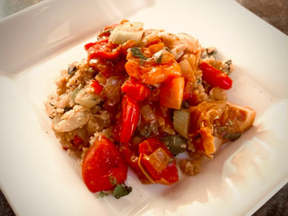 Quick and Easy Artichoke Tomato Stew