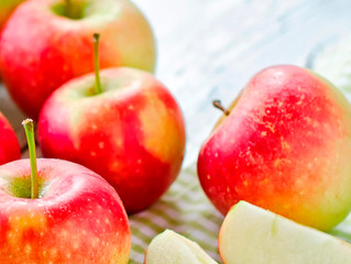 Guest Post with Chef Joan Donatelle to celebrate Apple and Seafood Month