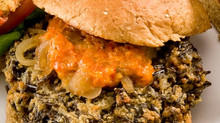 Celebrate International Burger Day with Duluth Grill's Wild Rice Burger