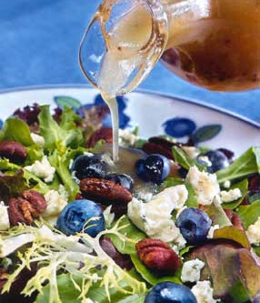 Maple Syrup makes this All Seasons Salad sing