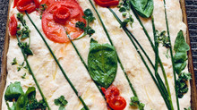 Easy Focaccia Gardenscape Bread Art Amazes and Delights