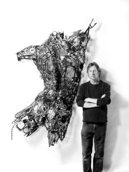 Sculptor Lawrence Feir talks about creativity, cancer, and grace