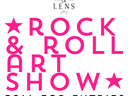 CALL FOR ENTRIES - ROCK & ROLL ARTSHOW
