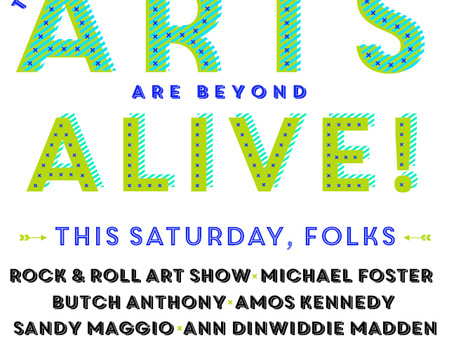 Arts Alive 2015 is this Saturday!