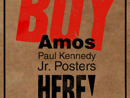 SURRENDER opened last Friday and Amos Paul Kennedy, Jr is coming on Friday and Rock & Roll Art Show