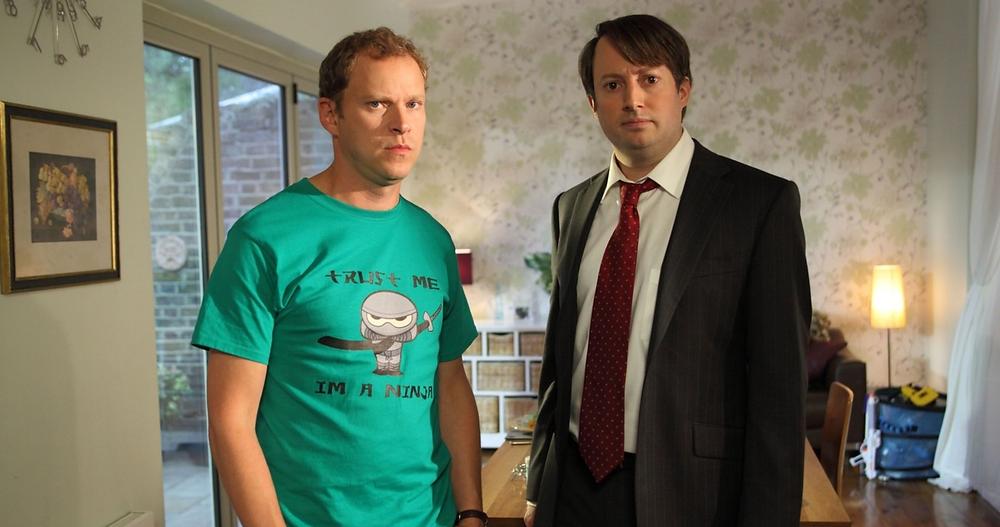 Main characters of sitcom Peet Show