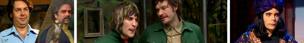 Main cast of sitcom The Mighty Boosh