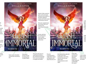 Cover advice: Of Ash Immortal