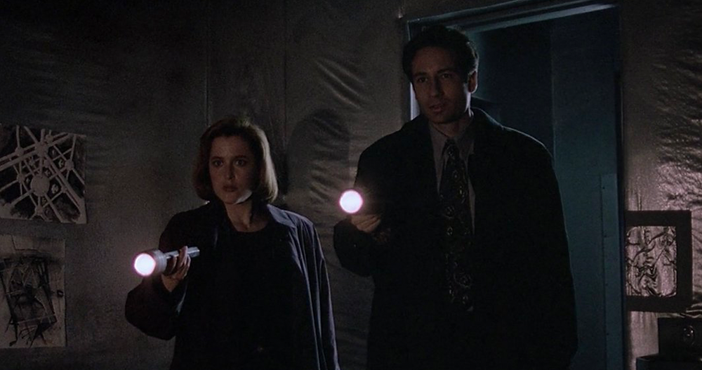 Main cast of drama The X-Files
