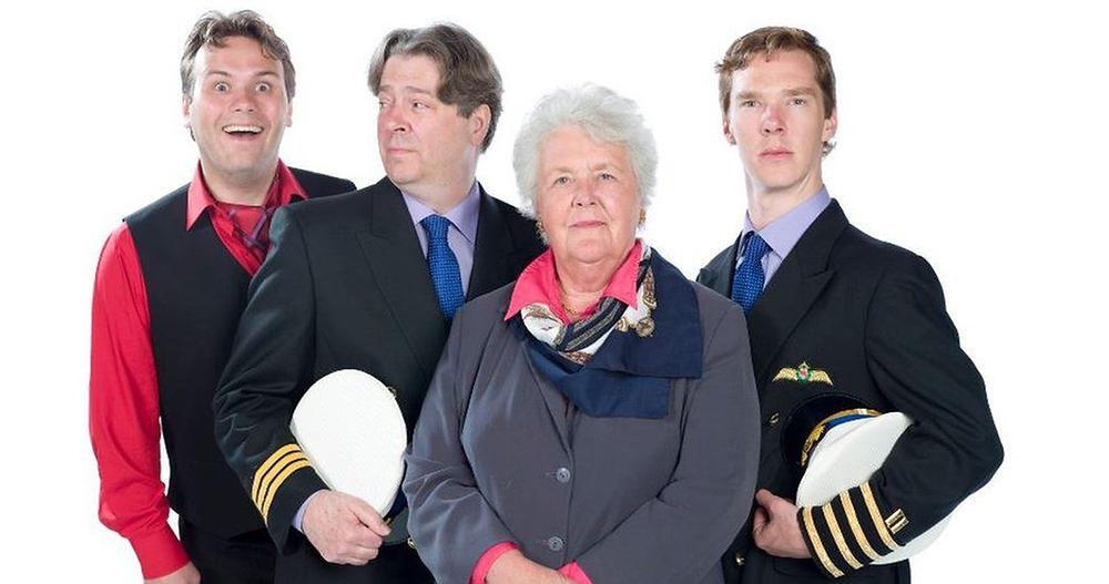 Photo of main cast from radio sitcom Cabin Pressure