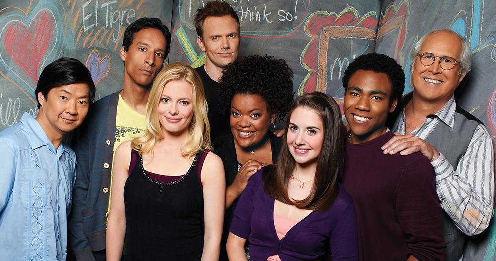 Main cast of sitcom Community